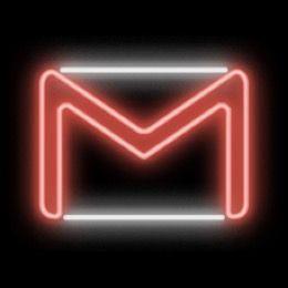 Neon Gmail Logo Iphone Photo App Wallpaper Iphone Neon Ios Icon