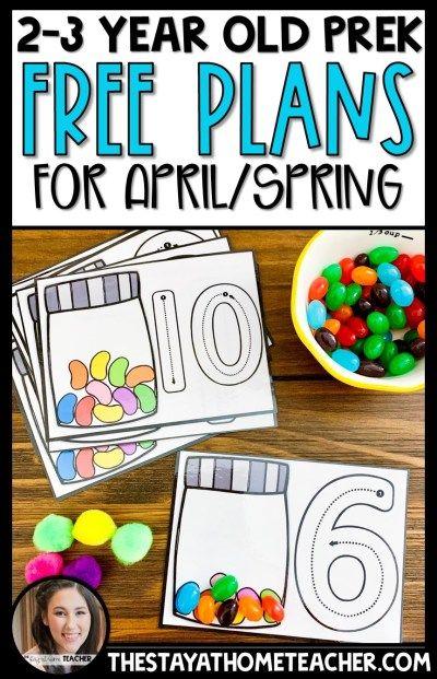 Preschool 2 Year Old, April Preschool, 4 Year Old Activities, Preschool Schedule, Numbers Preschool, Preschool Learning Activities, Preschool At Home, Toddler Preschool, Preschool Activities