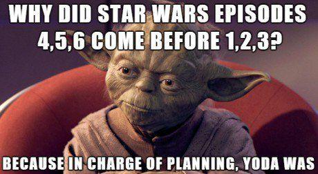 Who Let Yoda Plan Things Star Wars Memes Star Wars Humor Funny Star Wars Memes Star Wars Memes
