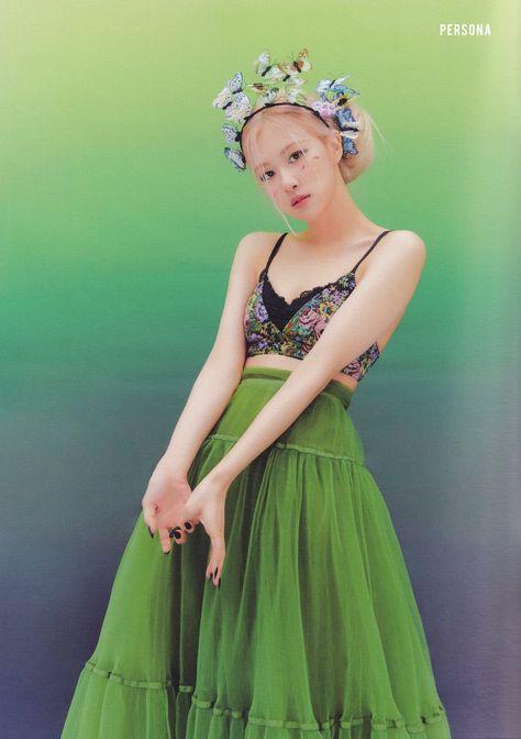 Kpop Girl Groups, Kpop Girls, Photo Book, Black Pink Kpop, Blackpink Photos, Rose Photos, Blackpink Fashion, Blackpink Jisoo, Bridesmaid Dresses