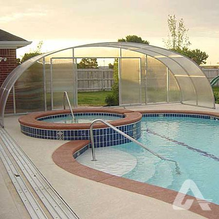 Polycarbonate Pool Enclosure Pool Enclosures Residential Polycarbonate