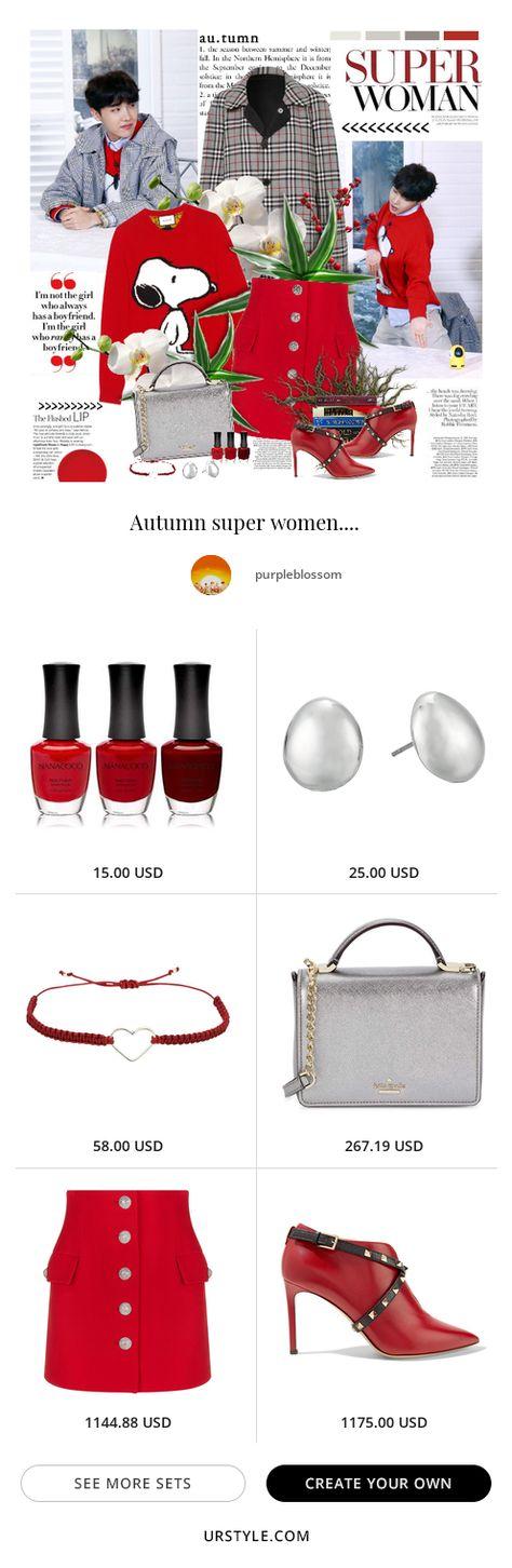 #myownstyle #urstyle #style #november #novemberlook #fall #falllook #autum #autumnlook #bts #jhope #kpop #hoseok #skirt #red #redskirt #sweater #snoopy #gucci #metalicbag #coat #plaidcoat #plaid#fashion #ootd #inspiration #style #stylization #urstyle #styleset #fashionblogger #earrings #items
