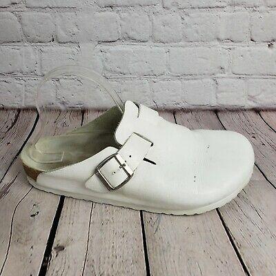 Ad)eBay Birkenstock Boston White Slip