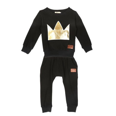 2pcs Newborn Toddler Infant Baby Boy T-shirt Tops+Pants Kids Clothes Outfits Set