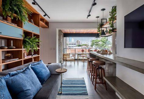 Um lindo apartamento integrado e super aconchegante - limaonagua