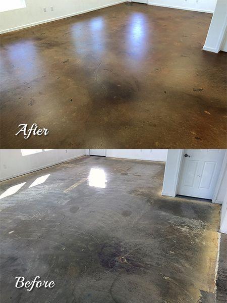 Color Mist One Gallon Concrete Stained Floors Stained Concrete Concrete Floors
