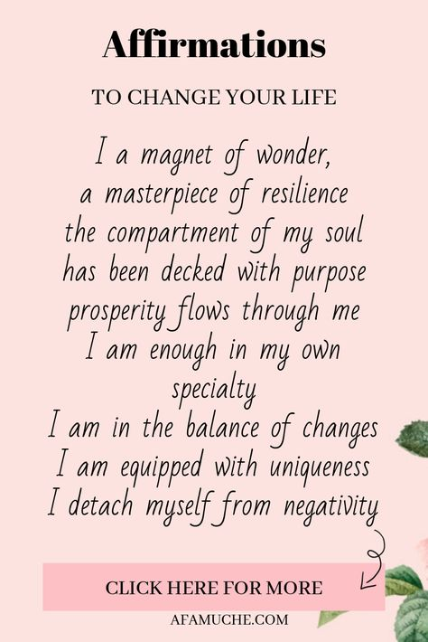 Positive affirmation, law of attraction, anxiety, motivation, daily positive affirmation, #entrepreneurmindset #selfdevelopment