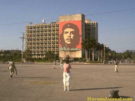 Plaza de la Revolucion with Che Guevara Cuba Pinterest Che - gardine für küche