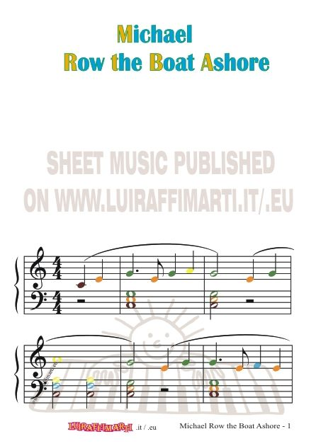 Blank Treble Clef Staff Paper Free Sheet Music Template Primary