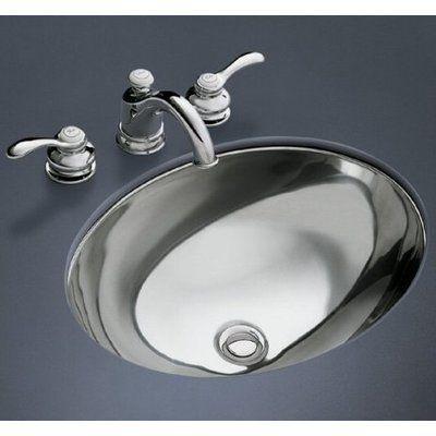 Kohler Rhythm Metal Oval Undermount Bathroom Sink Sink Finish