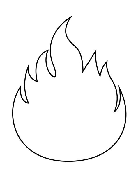 image relating to Printable Flame called Pinterest