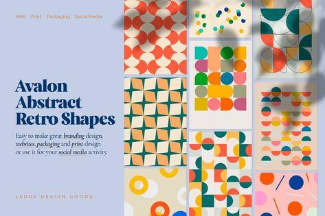 AVALON Retro Abstract Shapes ver 2.0