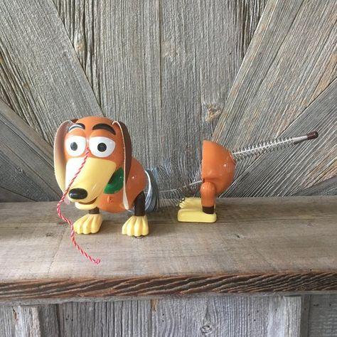 Slinky Dog Toy Story Toy Vintage Disney Pixar Slinky Dog Kid Pull
