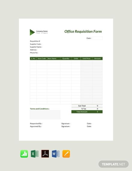 Free Office Requisition Form Memo Examples Templates Resume