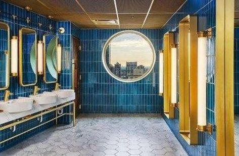 30 Awesome Public Restrooms Ideas