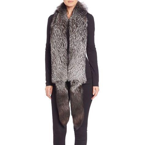 Ladies Faux Fur Collar Scarf Neck Winter Mink Pia Rossini Tatiana