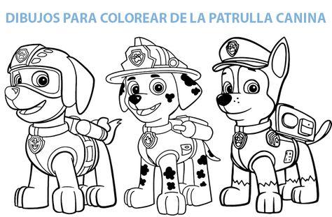 Resultado De Imagen Para Patrulla Canina Para Colorear 2020