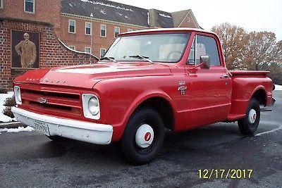 67 C 10 Stepside Chevrolet Trucks 67 Chevy Truck Classic Chevy Trucks