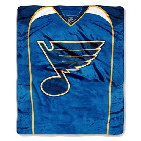 St. Louis Blues NHL Jersey Throw  0c27119b8
