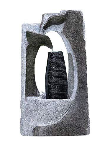 Olibelle 30 x 60 x 45 cm Fontaine de la Piscine Cascades Bassin Exterieur Fontaine Etang Piscine de Jardin