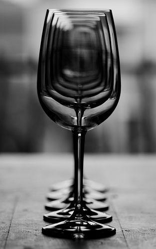 Wineglasses.