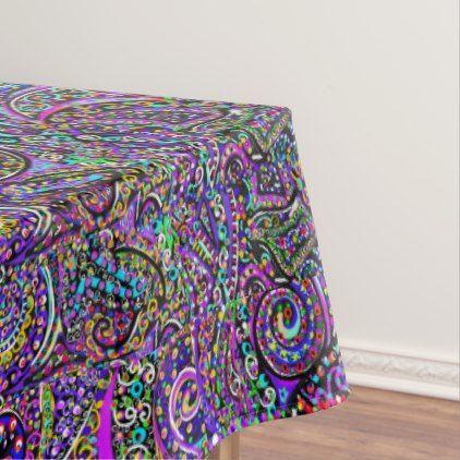 Hidden Dolphin Design Tablecloth Zazzle Com Table Cloth Design Spring Diy