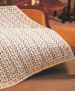 I love how simple the Geometric Crochet Lace Pattern looks. It's an easy crochet pattern anyone can make!