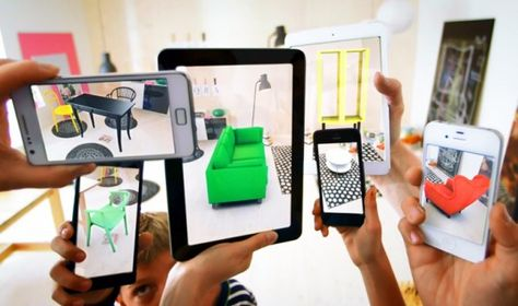 IKEA's Augmented Reality 2014 Catalog Lets You Preview Products in Your Apartment!