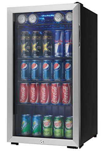 Top 10 Beverage Refrigerator With Blue Led Light of 2019