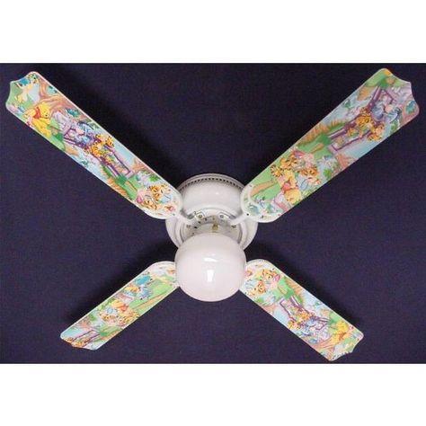 Ceiling Fan Designers Ceiling Fan Designers Winnie Pooh Piglet Eeyore Tigger Indoor Ceili Ceiling Fan Design Ceiling Fan Light Kit Hugger Ceiling Fan