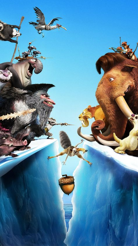 Ice Age: Continental Drift (2012) Phone Wallpaper | Moviemania