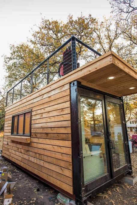Elegant Container Home Tiny House 1 Near Magnolia Tiny Houses For Rent In Waco Texas United States Tiny Houses For Rent Container House Tiny House Design