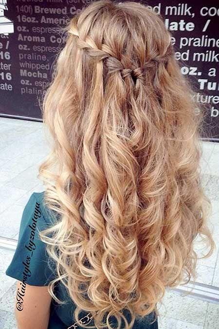 40 Besten Geflochtenen Frisuren Für Langes Haar Frisur Prom Hair