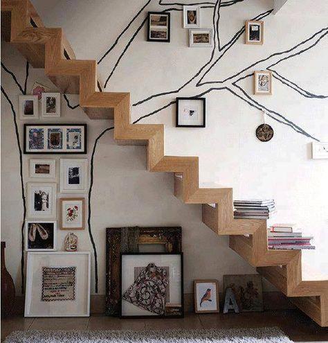 Mensola portaoggetti con gradino piani Understairs Scaffale