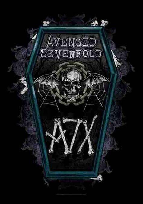 Avenged Sevenfold Coffin Posterflaggen Fahne 75x110 Cm Eur 15 98 Avenged Sevenfold Posterflagge 100 Polyesterean In 2020 Stoffposter Avenged Sevenfold Led Zeppelin