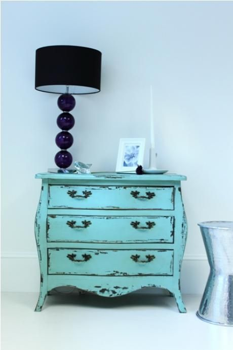 distressed chest of drawers from out there interiors