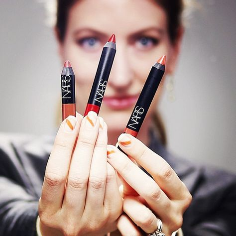 """NARS has a color and texture in their Velvet Lip Pencils for every mood or occasion. I love the Matte in Cruella for vintage screen siren looks and the Gloss in Happy Days for a lighter look in a hit of coral, perfect to pair with bold eyes. These pencils are one-step lip color with great lasting power."" Marie, Senior Counsel. Shop now: http://seph.me/QPsiG3"
