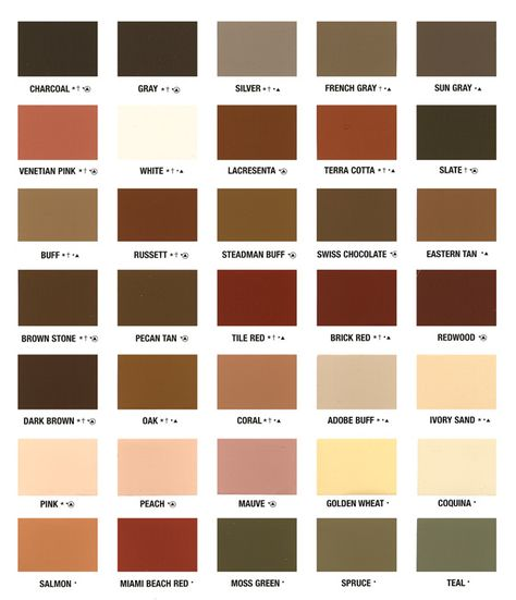 Color Chart And Patterns Eagle Concrete Corp Broward 39 S Top Stamped Concrete Concrete Coatings Concrete Decor