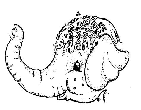 60 best printable elephants images  coloring pages elephant coloring page coloring books