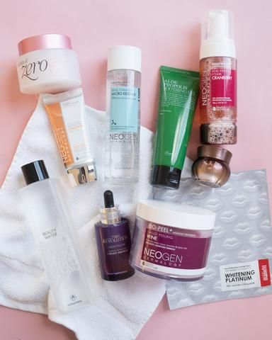 10 Step Korean Skincare Routine Set Combination Skin Type In