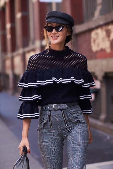 We're bringing you the latest street style looks from New York fashion week,. We're bringing you the latest street style looks from New York fashion