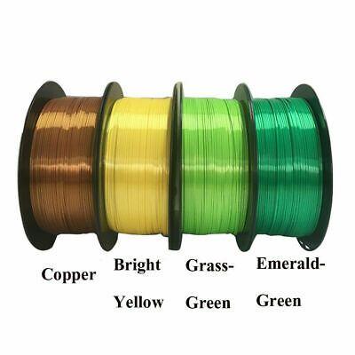 3D Printer Filament 1.75mm PLA 1kg//2.2lb For Drawing Printer Pen MakerBot Green