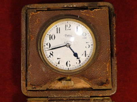 313 A Mappin Eight Day Travel Clock For Repair Est 10 20 With Images Travel Clock Clock Antique Wall Clock