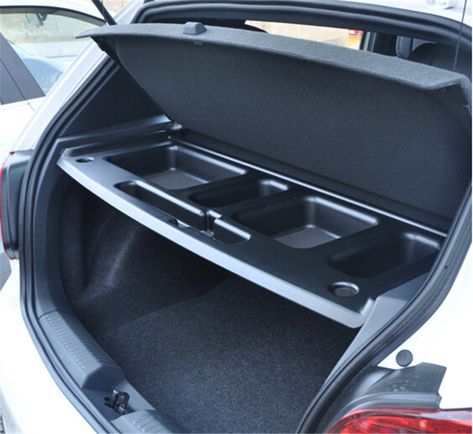 1pc Car Rear Tail Trunk Storage Box Tank Space Glove Holder