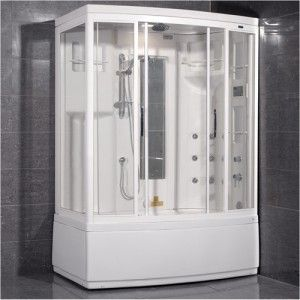 Ariel Bath Zaa208 L Ameristeam Steam Shower Sauna 59 X 36
