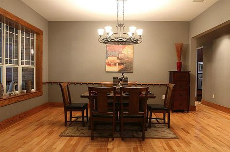 honey oak trim and how to make it work by choosing the right paint color for walls instead of painting all the trim white. - Google Search