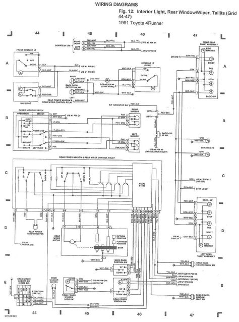 Wiring Diagram Toyota Hilux 1981