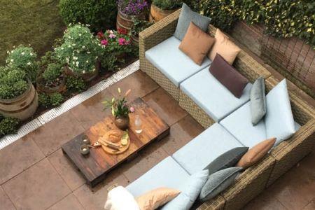 Tuin terras ideeen haal het meeste uit je kleine tuin met deze