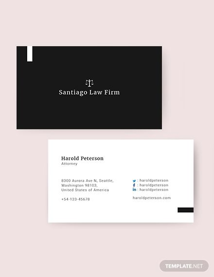 Attorney Business Card Template Word Psd Apple Pages Illustrator Publisher Lawyer Business Card Attorney Business Cards Student Business Cards