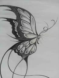 Resultado De Imagen De Mariposas Para Dibujar A Lapiz Butterfly Sketch Butterfly Art Drawing Butterfly Drawing